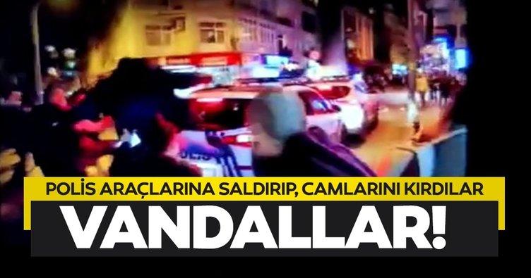 Son Dakika: Polis araçlarına böyle saldırdılar! İstanbul'da Boğaziçi Üniversitesi provokasyonunda 104 yeni gözaltı kararı!