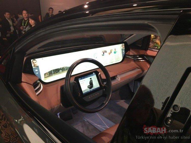 Tesla'nın Çinli rakibi CES 2019'a damga vurdu! Dikkatleri üzerine çekti