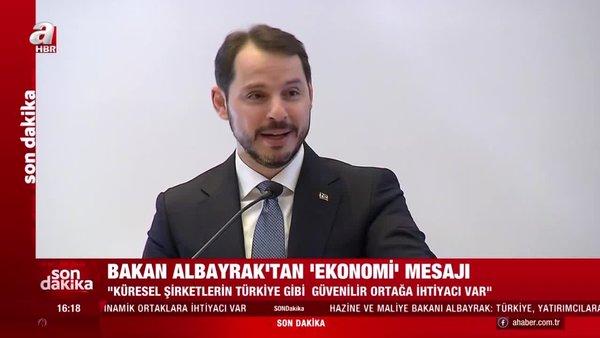 Hazine ve Maliye Bakanı Berat Albayrak: Birçok çok uluslu şirket üretimlerini Asya'dan bölgemize yönlendirmeye başladı | Video