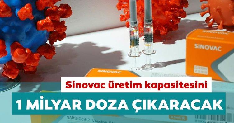 Sinovac Covid-19 aşısı üretim kapasitesini 1 milyar doza çıkaracak