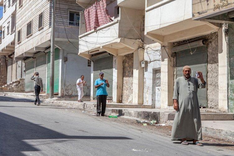 Masal diyarı Halep şimdi harap