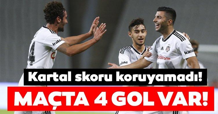 Beşiktaş Panathinaikos ile berabere kaldı!