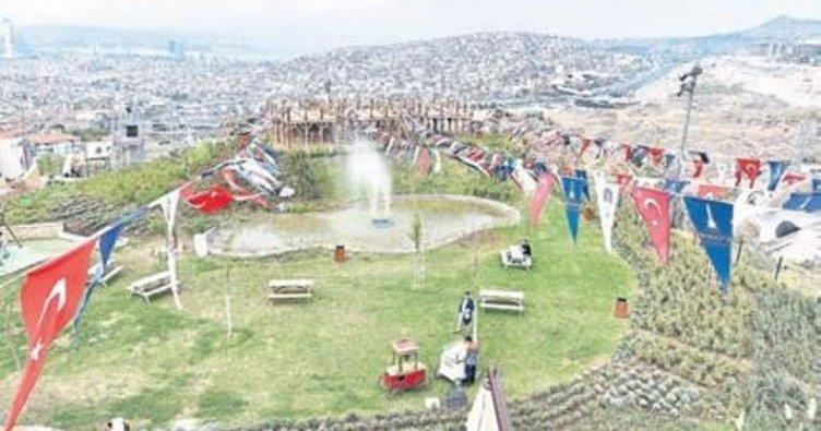 Macera Parkı törenle açıldı