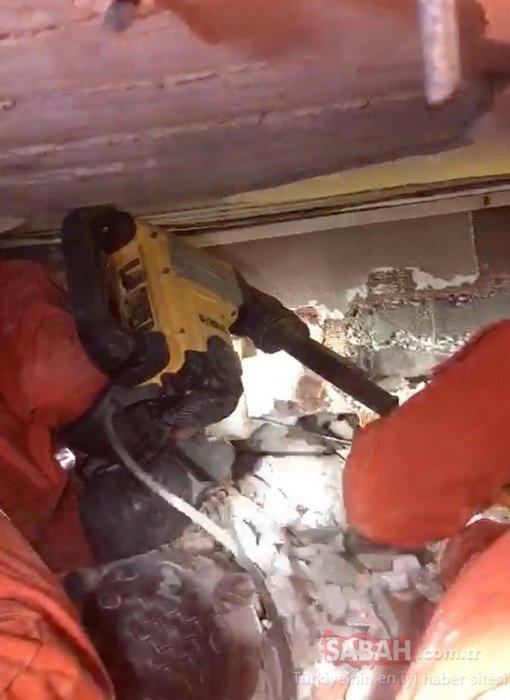 Son dakika haberi: İzmir'de enkaz altında kalan Buse'den iyi haber