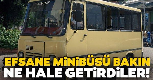 Efsane Magirus minibüsü bakın ne hale getirdiler!
