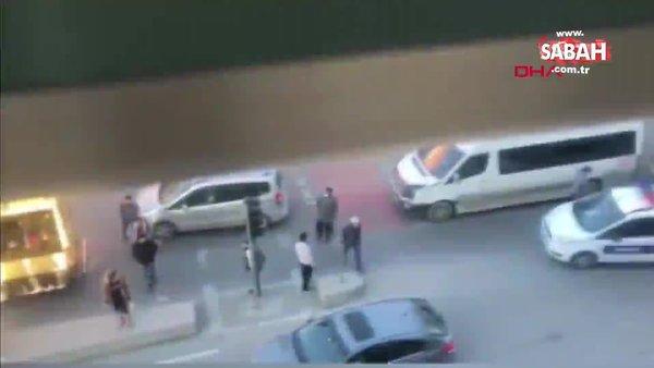 İstanbul Arnavutköy'de elinde bıçak sinir krizi geçiren genç gözaltına alındı | Video