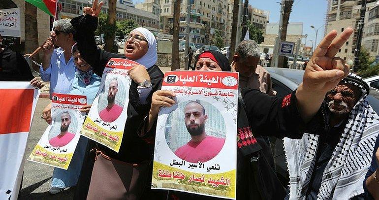 İsrail hapishanesindeki Filistinli tutuklu işkenceyle şehit edildi