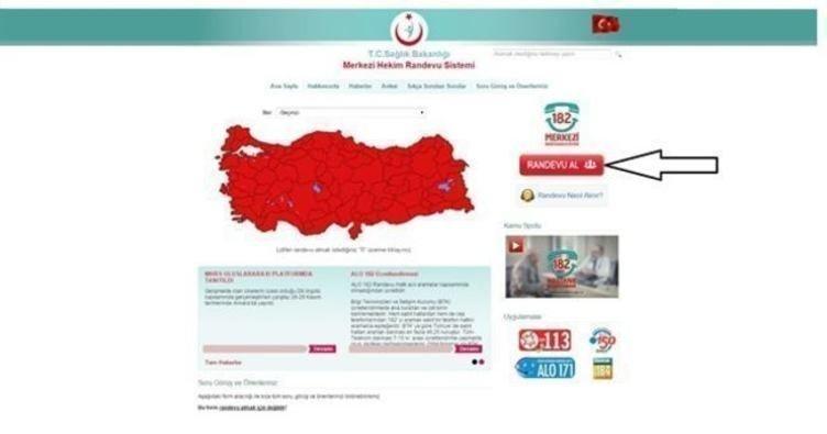 MHRS ile internetten online randevu alma! - ALO 182 ve MHRS randevu işlemleri! - Sağlık Haberleri