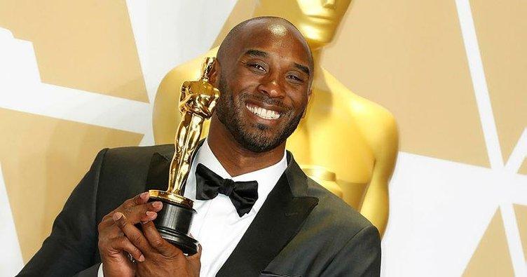 NBA efsanesi Bryant da Oscar aldı