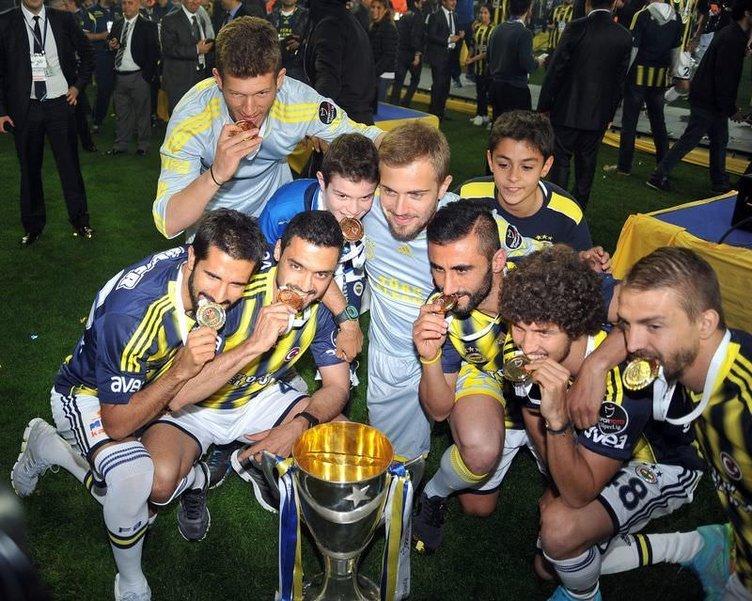 İşte Fenerbahçe'nin şampiyonluk kutlamaları
