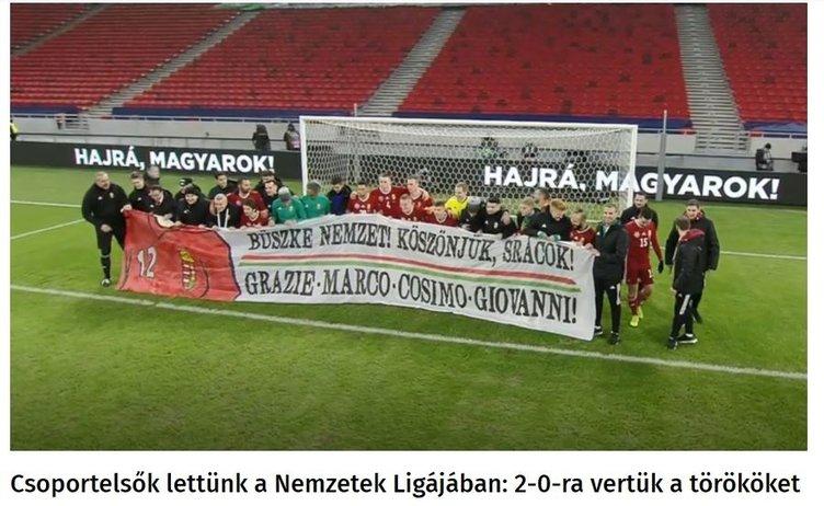 Dış basın Macaristan-Türkiye maçını böyle gördü!