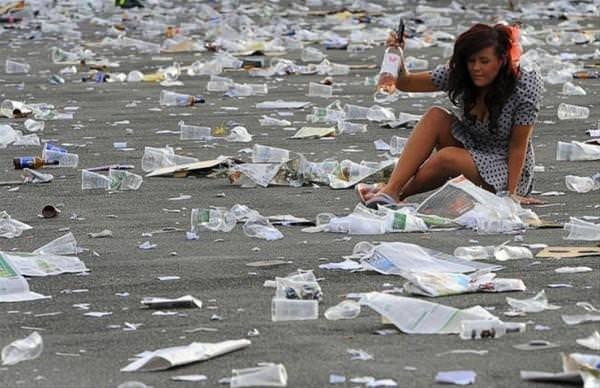 Çevre kirliliğini yansıtan gerçek fotoğraflar