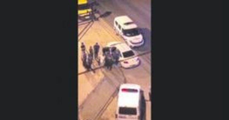 Etrafa rastgele ateş açan kişi gözaltına alındı