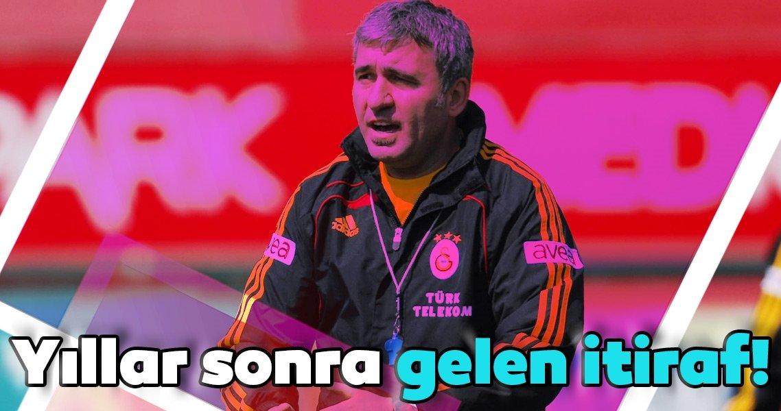 Galatasaray efsanesi Hagi'den yıllar sonra gelen itiraf!