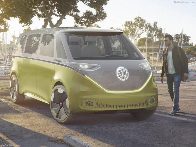 2017 Volkswagen ID Buzz Konsept