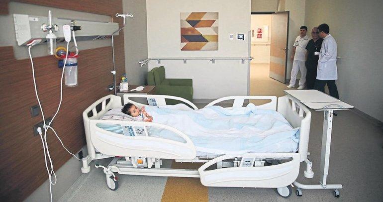 Yanık hastaları şehir hastanesinde şifa buluyor