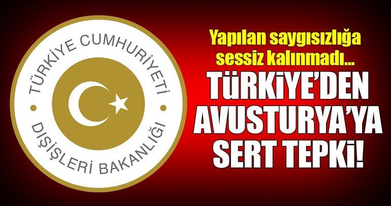 Türkiye'den Avusturya'ya yolcu arama tepkisi!