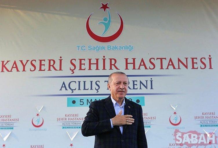 Açılışını Cumhurbaşkanı Erdoğan yaptı! Türkiye'nin en büyüğü olacak