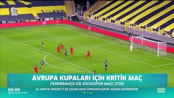 Avrupa kupaları için kritik maç