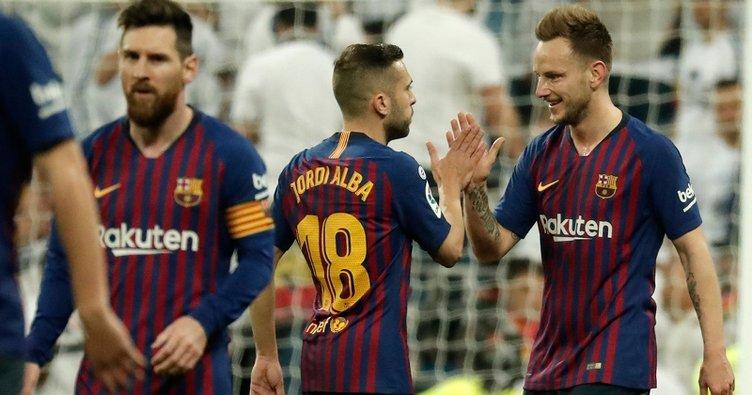 El Clasico'da zafer yine Barcelona'nın