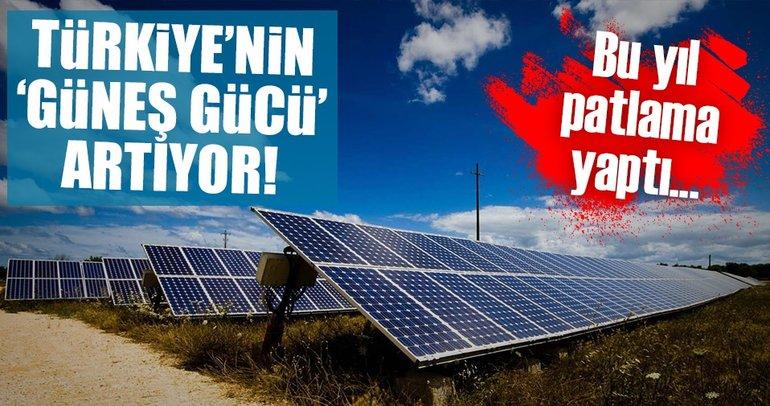 Türkiye'nin GES gücü artıyor