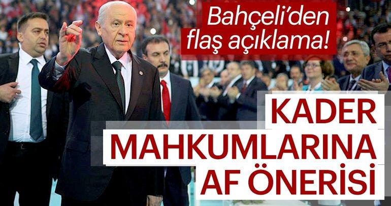 Bahçeli'den flaş açıklama: 24 Haziran'da, 13. Cumhurbaşkanı bizzat Türk milleti tarafından seçilerek...