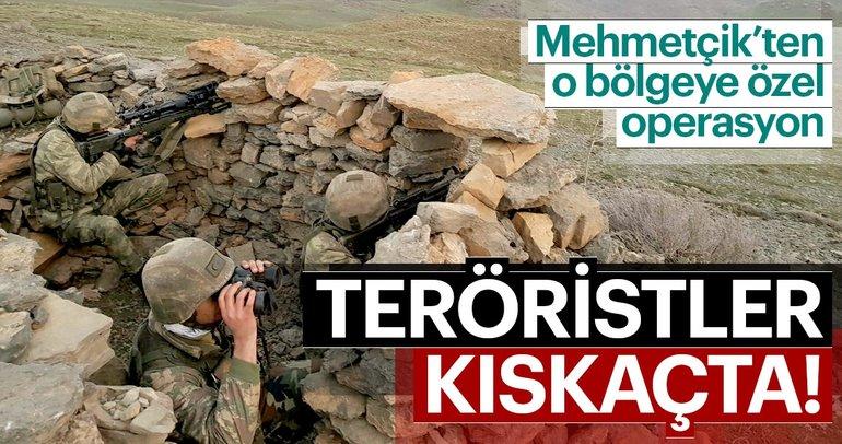 Mehmetçik karlı dağları teröristlere dar ediyor!
