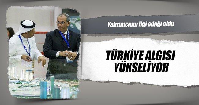 Türkiye algısı yükseliyor