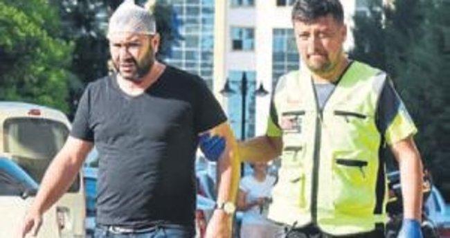 Avukat karı kocaya saldırı ucuz atlatıldı