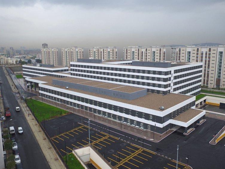 Sancaktepe Devlet Hastanesi göz kamaştırıyor