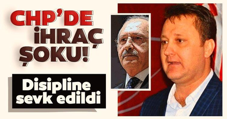 CHP'li başkan 'kesin ihraç' istemiyle Yüksek Disiplin Kurulu'na sevk edildi