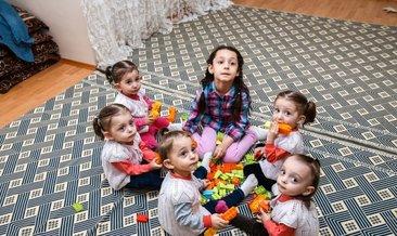 Türkiye'nin beşizleri iki yaşında