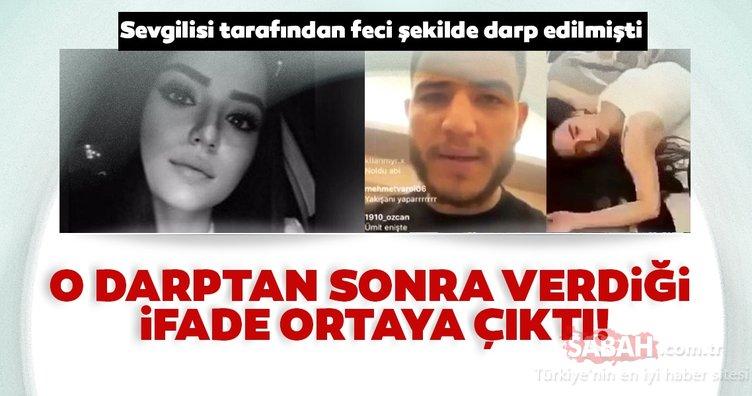 Son dakika haberi: Aleyna Çakır'ın darptan sonra verdiği ifade ortaya çıktı! Sevgili Ümitcan Uygun'dan kan donduran açıklama! Seni öldüreceğim, sen bittin, seni yaşatmayacağım…