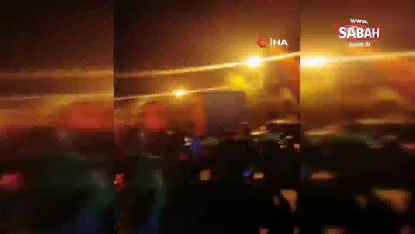 Son dakika haberi... Irkçı Rumlar KKTC sınır kapısına hücum ederek yangın çıkardı!