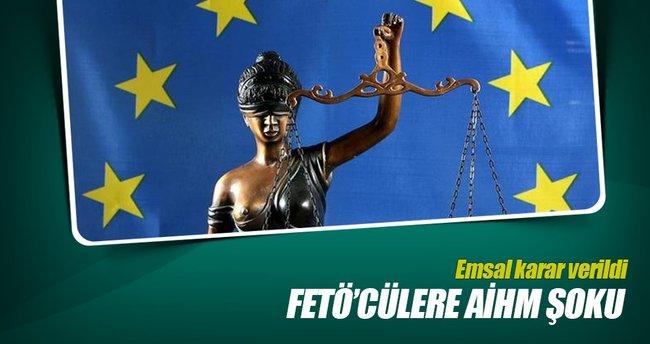 FETÖ tutuklusu hâkime AİHM'den 'ret' cevabı