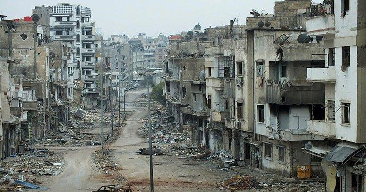 Esad rejimi, Humus'ta saldırılara başladı