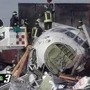 Milano'da kalkış sırasında kaza oldu.