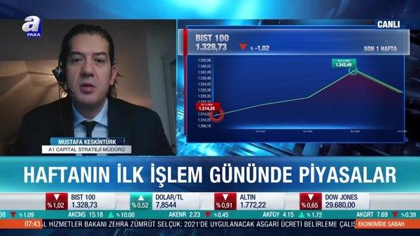 Mustafa Keskintürk: BIST 100 endeksinde kısa vadeli bir düzeltme sağlıklı olacaktır