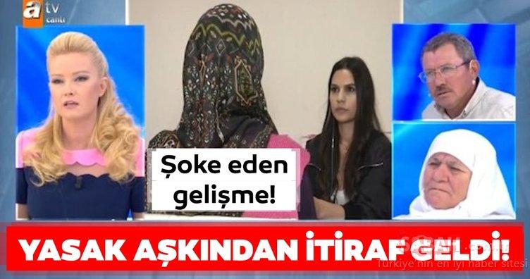 Müge Anlı'daki yasak aşk skandalından şoke eden son dakika gelişmesi! Nazife Demirel'in yasak aşkı böyle itiraf etti