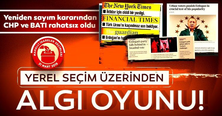 CHP ve Batının provokatif söylemleri!