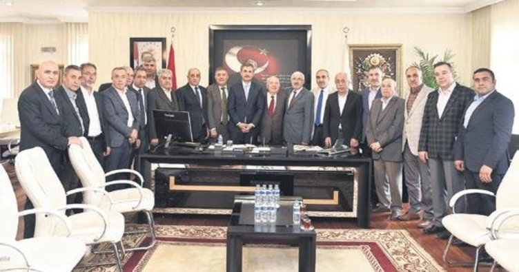 Başkan Murat Köse misafirleri ağırladı