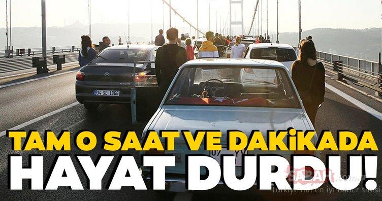 Mustafa Kemal Atatürk için saat 9'u 5 geçe hayat durdu