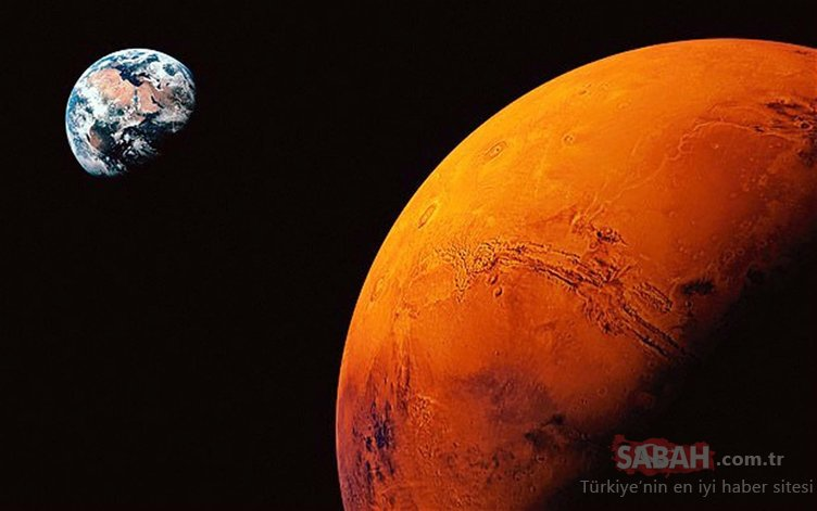 Mars'a yolculuk yapan UFO iddiası ortalığı karıştırdı