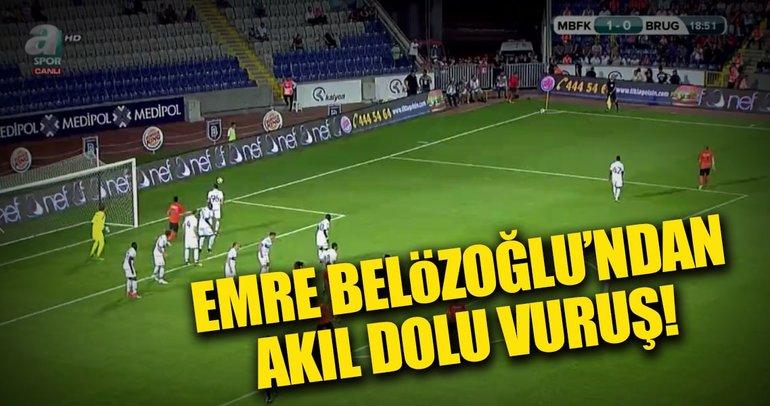 Emre Belözoğlu'ndan akıl dolu vuruş!