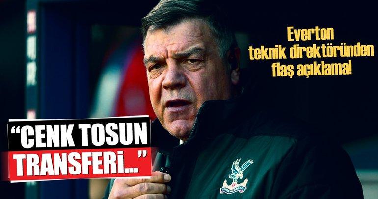 Everton teknik direktöründen flaş Cenk Tosun açıklaması!