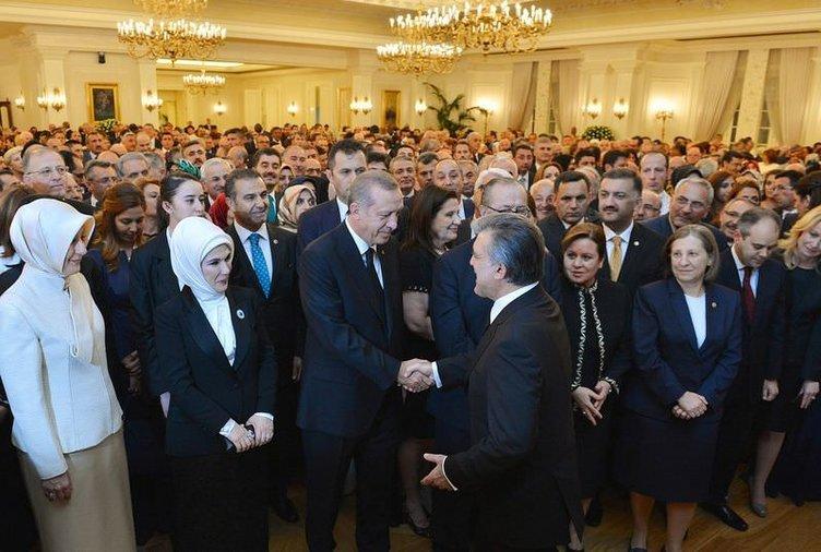 Abdullah Gül veda konuşması yaptı