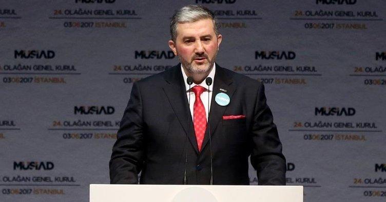 MÜSİAD'ın yeni başkanı Abdurrahman Kaan oldu!