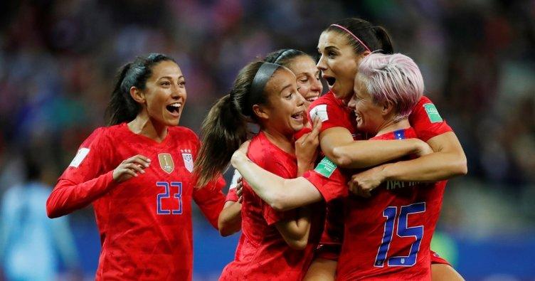 FIFA Kadınlar Dünya Kupası'nda ABD'den tam 13 gol