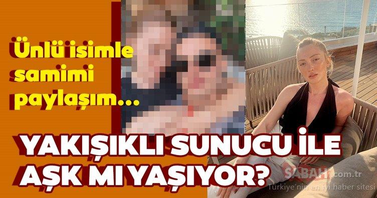 Danla Bilic'ten Survivor sunucusu Murat Ceylan ile samimi poz! Danla Bilic Murat Ceylan ile aşk dedikodularına böyle yanıt verdi...