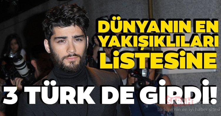 Dünyanın en yakışıklı ünlüleri! Listede 3 Türk de var